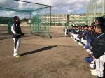 久居高校野球部 練習見学